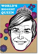Biggest Queen Card
