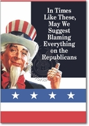 Blame Republicans Card
