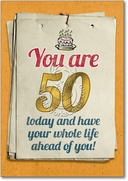 You are 50 Bitch Card