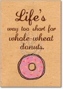 Whole-wheat Donuts Card