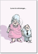 Love is Strange Card