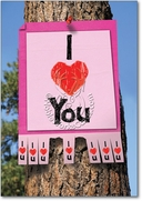 I Love You Sign Card