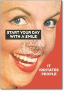 Start With Smile Card