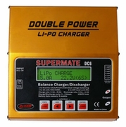 Dynam Supermate DC6 Double Power Universal Balance  Charger 1-15 NiCd/NiMH 2-6 Cell Lipo