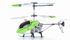 3 Channel Mini X Sport RC Electric Co-axial Helicopter w/ LED Lights Full Metal Body Frame & Gyroscope (Green)