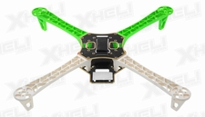 AeroSky RC Quadcopter 4 Channel Kit Frame (Green)