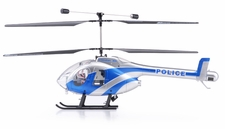 Exceed RC 2.4Ghz WarHawk 300 4-Channel Radio Remote Control RC Helicopter RTF Co-Axial - 100% Ready-to-Fly w/ Lipo Battery (Police Blue)