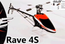 Rave 4S Helicopter Kit, Scorpion 10, Radix 350s