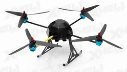 Lotus RC T80 RC Quad-Copter Drone 4 Channel Almost Ready to Fly