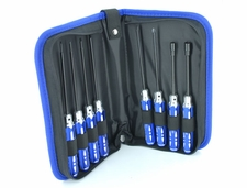 EXI 8pcs RC Tool Kit Handy Case/ Hexangular/ Screwdriver/ Sockets