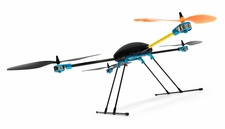 T580 Almost Ready To Fly QuadCopter Drone AV/P Multi Rotor w/ Gyro
