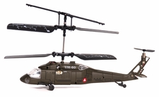 New Syma Mini Micro Palm Sized 3 Channel Ready to Fly Indoor UH-60 Black Hawk RC Remote Control Radio