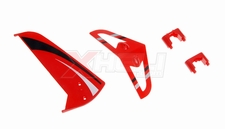 Tail decoration blades (Red 4 Pcs)