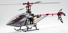 6 CH Falcon 400 SE Special Pro Edition CCPM 3D Aerobatic Radio Remote Control Electric RC Helicopter RTF w/ CNC Rotor Head/Tail + Brushless Set & Li-Po Battery