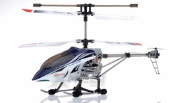 JDX 333 METAL 3 Channel RC Remote Control Helicopter w/Gyro RC Remote Control Radio (Blue)