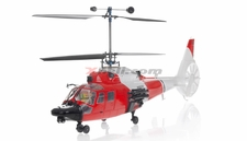 Walkera Lama 400 Metal 2.4GHz 4CH US CNC RC Electric Helicopter RTF w/ Metal Head + Flashing LED Head & Tail Lights, LCD Transmitter (Red Version)