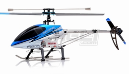 "26"" Double Horse 9104 Helicopter 3 channel Single Rotor RC Helicopter RTF Ready to Fly w/ Gyro (Blue)"