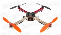 AeroSky Radio Remote Control RC Quadcopter  4 Channel RTF w/ LED (Red)