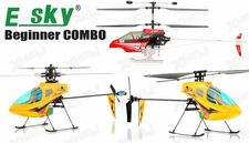 RC Esky Beginner Helicopter Series All in One KOB, Honey Bee, Honey Bee CP2 4 Channel & 6 Channel