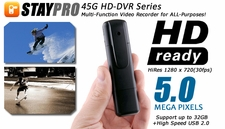STAYPRO 45G HD-DVR 5-MegaPixel Micro FPV Video Recorder w/ HDMI 1280 x 720 30fps