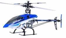 ESky 900 3D Almost Ready to Fly 500-class 6CH CCPM Helicopter Kit (Blue) RC Remote Control Radio
