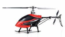 Exceed RC  Classima 300 Flybarless 2.4Ghz Metal Ready to Fly RTF Helicopter w/ Auto Stabilizing Gyro/LCD Digital Transmitter (Red) RC Remote Control Radio