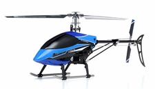 Exceed RC  Classima 300 Flybarless 2.4Ghz Metal Ready to Fly RTF Helicopter w/ Auto Stabilizing Gyro/LCD Digital Transmitter (Blue) RC Remote Control Radio