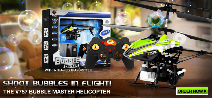 The V757 Bubble Master Helicopter Collection