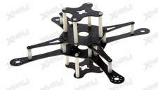 CR4-230 QuadCopter w/ KK Board KIT Airframe (Black)
