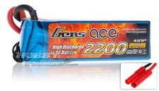Gens ace LIPO Battery 2200mAh 60-120C 14.8V