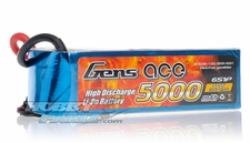 Gens ace LIPO Battery   5000mAh 60-120C 22.2V