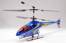 4-CH Esky Lama V4 Electric Co-Axial    Helicopter (2.4G-Blue-Ready-to-Fly) RC Remote Control Radio