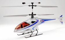 4-CH Esky Lama V4 Electric Co-Axial Radio Remote Control RC Helicopter (2.4G-Silver-Ready-to-Fly)
