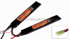 GENS ACE 1200mAh 7.4V 20C Saddle for AirSoft