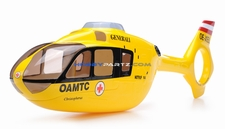 EC135 450 Pre-Painted Glass Fiber Fuselage OAMTC Style (Yellow) 96P-450-fuse-01-yellow