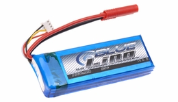 Blue LiPo 3-Cell 1800mAh 3S1P 11.1v 25C LiPoly Battery
