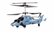 4 Channel HM0960 Futuristic Indoor Remote Control Helicopter w/ Built in Gyro