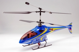 4-CH Esky Lama V4 Electric Co-Axial Radio Remote Control RC Helicopter (2.4G-Blue-Ready-to-Fly)