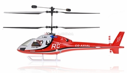 Esky Big Lama Co-Axial Radio Remote Control Electric RC Helicopter w/ Flight Simulator Kit (2.4G Red/White and Ready-to-Fly)