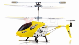 3.5-CH Dynam Vortex M100 Infrared RC Micro Helicopter Ready-to-Fly w/Gyro (Yellow)