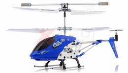 Dynam Vortex M100 Infrared  Micro Helicopter 3.5 Channel RTF + Transmitter with Gyro (Blue) RC Remote Control Radio