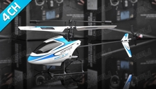 2.4Ghz 4 Channel V911 RC mini Helicopter (Blue)