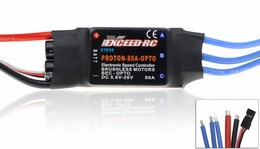 Exceed RC Proton/Volcano 80A OPTO Brushless Speed Controller ESC (w/o BEC)