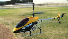 "Hero RC 26"" H853 Newest 3 Channel Outdoor Volitation Metal RC Helicopter w/ Built in Gyro (Yellow)"