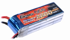 Gens Ace 2200mah 3S1P 11.1V 25C Lipo RC Battery Pack
