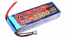 Gens ace 3300mah 3S1P 11.1V 25C Lipo battery pack