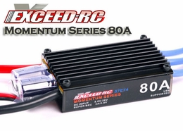 Exceed RC Momentum-80A Brushless ESC for RC Airplane and RC Helicopters ExceedRC-07E74_ESC-Momentum-80A
