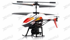 V319 3.5 Channel Water Spraying Metal RC Helicopter RTF with Built in Gyro