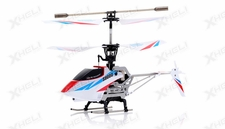 Syma S800G Metal Frame 4 Channel Coaxial Infrared RC Helicopter RTF w/ Gyro (White)