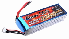 Gens ace 3300mah 4S1P 14.8V 25C Lipo battery pack